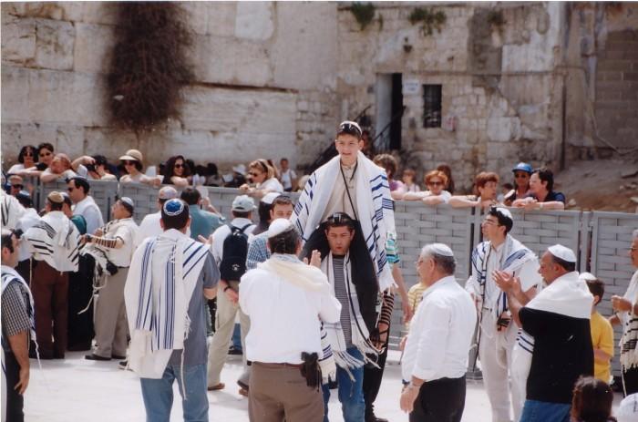 western-wall-bar-mitzvah