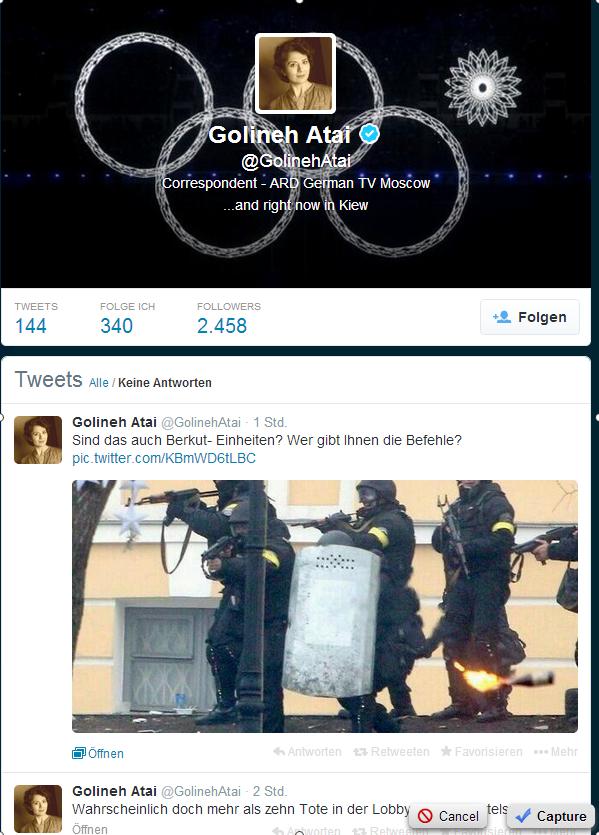 Golineh Atai  GolinehAtai  auf Twitter