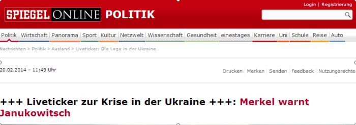 Liveticker  Die Lage in der Ukraine   SPIEGEL ONLINE