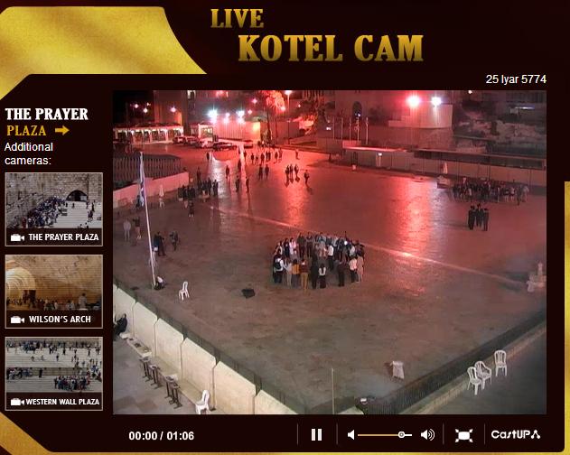 Western Wall   Live Webcam