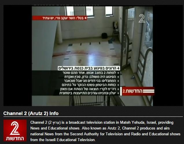 Channel 2  Arutz 2    Ch. 2   Mate Yehuda   Watch Online