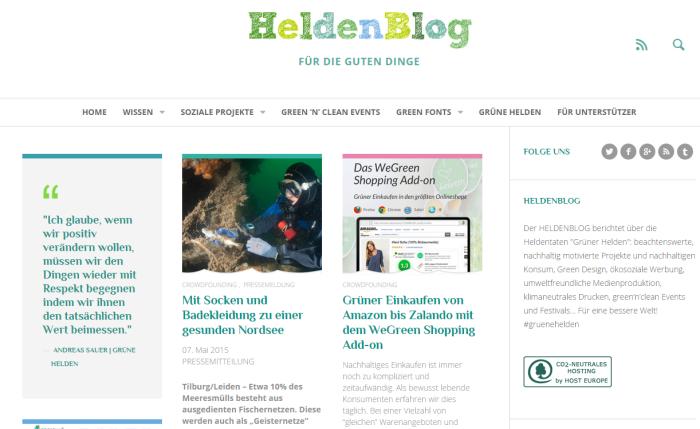 für die guten Dinge › HeldenBlog
